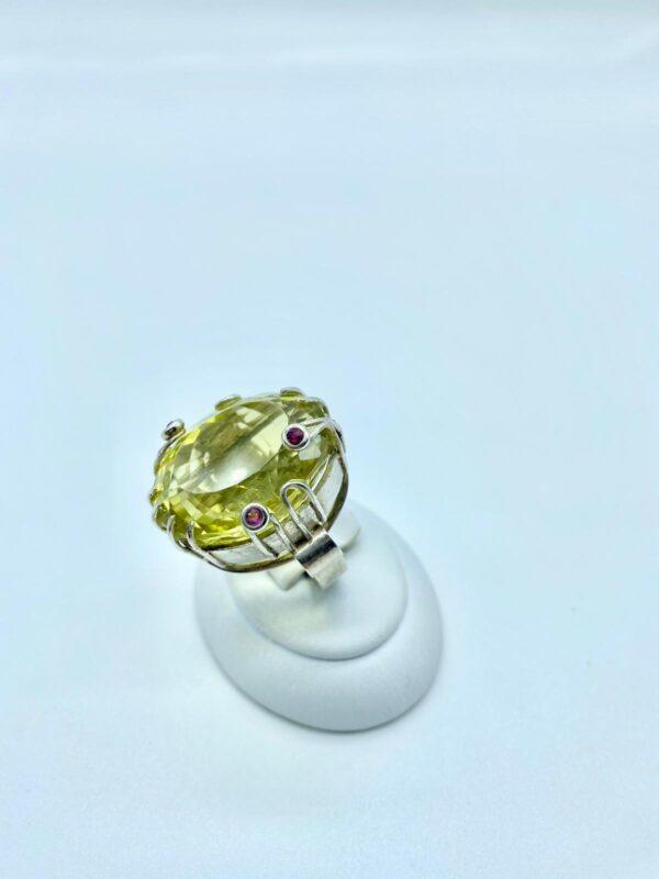 anello quarzo lemon 3