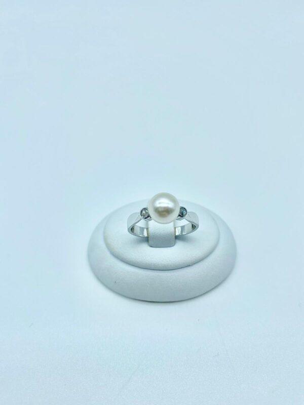 anello perla e diamanti 2